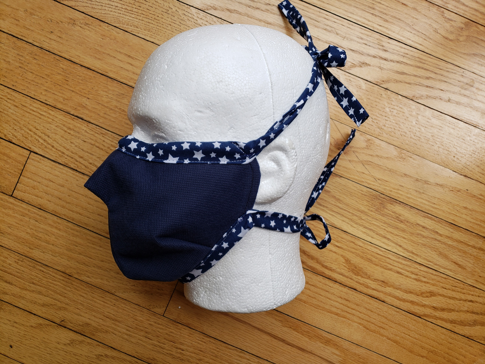 MakerMask:Fit, a nonwoven polypropylene fitted face mask