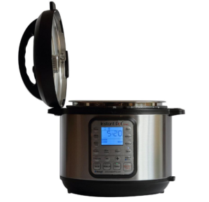 Image of an electronic pressure cooker that some people use as a home autoclave