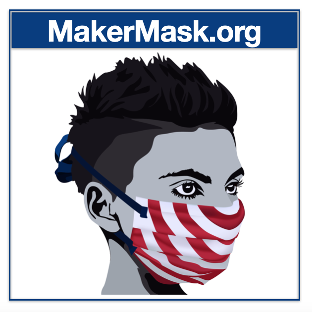 The MakerMask: Surge Nonwoven Polypropylene Mask
