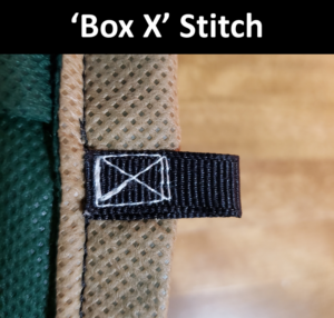 The 'Box X' Stitch is 9x stronger than a normal stitch