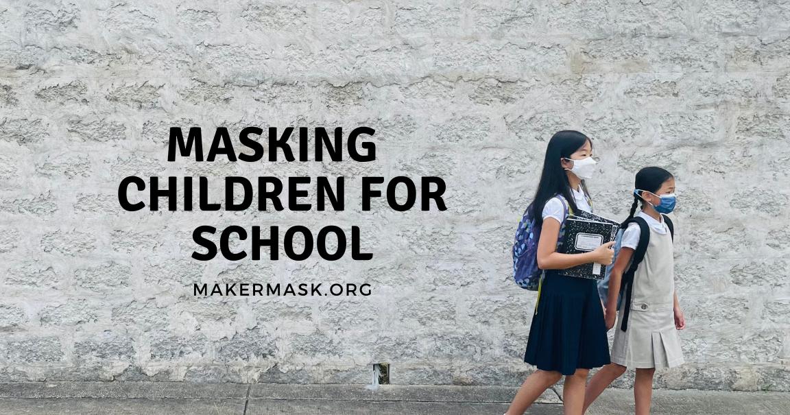 Masking Children for School